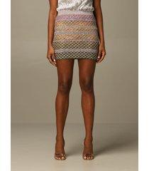 missoni skirt missoni skirt in mesh lurex wool knit