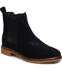 clarkdale arlo shoes chelsea boots svart clarks