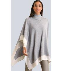 cape alba moda grijs::wit