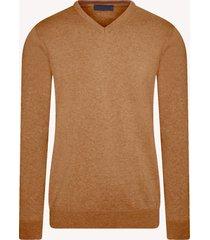 michaelis melange pullover | v-hals | katoen | shirtdeal