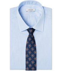 cravatta su misura, lanieri, medaglia blu, quattro stagioni | lanieri