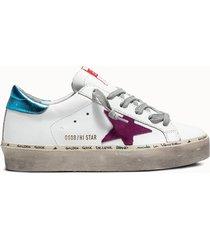 golden goose deluxe brand sneakers hi star colore bianco