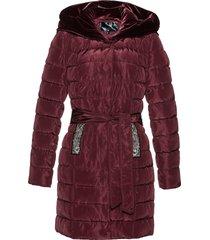 giacca trapuntata con velluto (rosso) - bpc selection