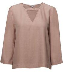 shimako blouse lange mouwen roze dagmar