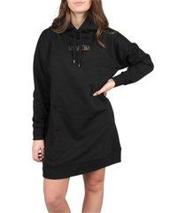 style code hoodie jurk