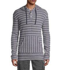 micah striped hoodie