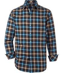 overhemd babista premium bruin::blauw