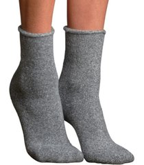 lemon women's second time around terry crew socks