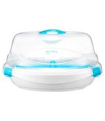 esterilizador a vapor para micro-ondas multikids baby bb1137 clean e dry branco