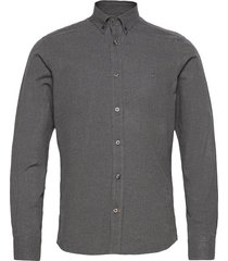 nelson button down shirt overhemd casual grijs morris