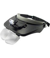 head visor magnifying glasses with led light
