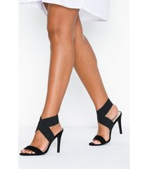 nly shoes shaped ankle heel high heel