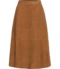 day reason knälång kjol brun day birger et mikkelsen