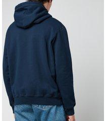 dsquared2 men's icon hoodie - navy - l