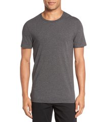 men's vince slim fit crewneck t-shirt, size large - grey