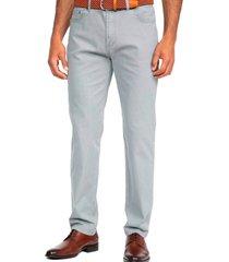 pantalon cinco bolsillos gris guy laroche