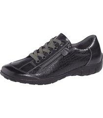 skor med snörning naturläufer svart
