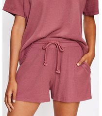 loft lou & grey wafflestitch shorts