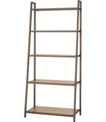 trinity 5- tier leaning bamboo rack