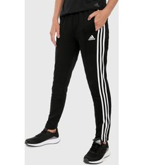 pantalón negro-blanco adidas performance must haves,