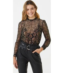 aaiko lott blouse black