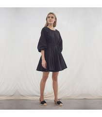 vestido leticia negro