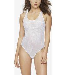 jezebel penelope lace & mesh bodysuit, online only