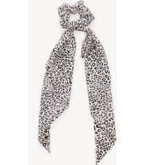 women's leopard print scarf pony ivory from sole society