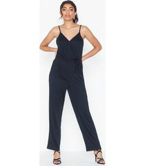 pieces pcelsa strap ankle jumpsuit pb jumpsuits