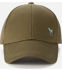 ps paul smith men's zebra baseball cap - khaki