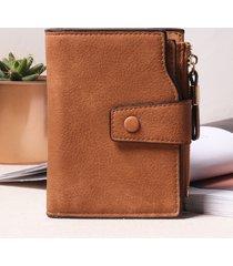 portafoglio donna hasp portafoglio lungo scrub portafoglio 7 portamonete donna in pelle pu portamonete