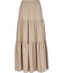 semicouture sand log skirt