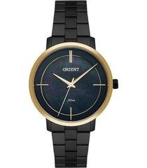 relógio feminino orient ftss0058/p1px - /dour