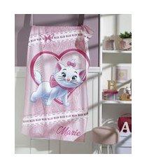 toalha de banho infantil de algodão marie rosa