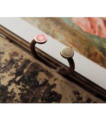 pierścionek miedziany minimalizm