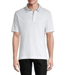 robert graham men's jansen polo t-shirt - cobalt - size xs
