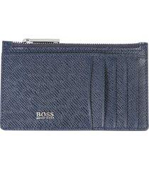 hugo boss zip wallet