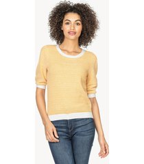 lilla p elbow sleeve pullover