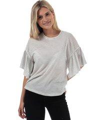 womens rebecca stripe jersey top
