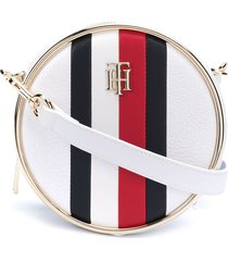 tommy hilfiger statement circle crossbody bag - yaf