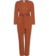 noralee jumpsuit orange baum und pferdgarten