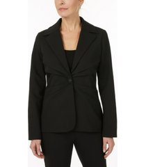 laundry by shelli segal blazer with pleating