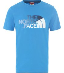 t-shirt korte mouw the north face nf0a4m6omf71