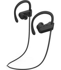 audífonos bluetooth deportivos, q12 auriculares colgantes de música estéreo audifonos bluetooth manos libres  auriculares deportivos (negro)