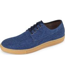 sapatãªnis probs7 sk8 lona jeans - azul - masculino - lona - dafiti