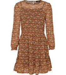 klänning onlkiara chiffon l/s short dress