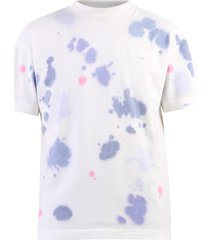 palm angels tie dye print t-shirt
