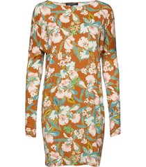 dress kort klänning multi/mönstrad ilse jacobsen