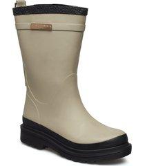 rubber boots regnstövlar skor beige ilse jacobsen