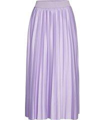 vinitban skirt/su - fav knälång kjol lila vila
